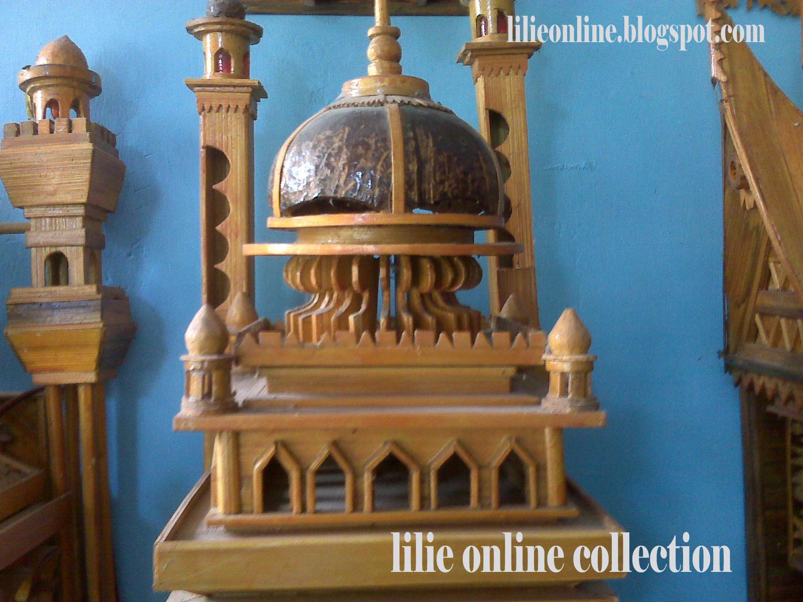 Spesifikasi produk lampu dinding model masjid kami adalah :