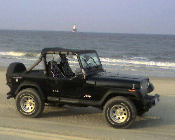 Jeep on the Point