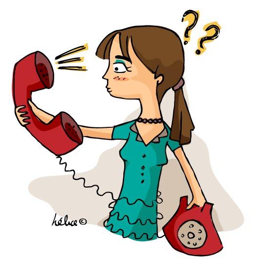 hablar por el telefono: