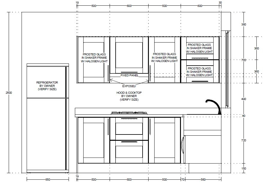 Two storeys window shopping kitchen cabinets for Kitchen cabinet section