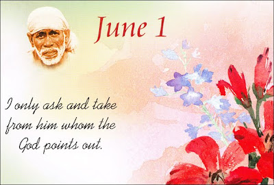 Shirdi Sai Speaks - Teachings for June