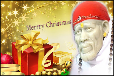 Shirdi Sai Christmas Wallpaper 3