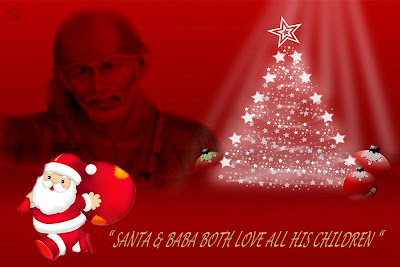 Shirdi Sai Christmas Wallpaper 5