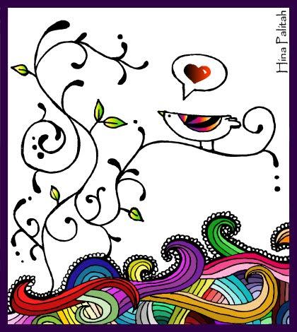 Pajaritos dibujos - Imagui