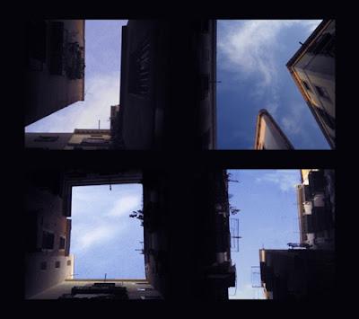 在天空打字 - 天空中的字母表