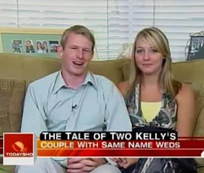 十大奇特夫妻 - 名字相同的夫婦