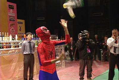 調酒蜘蛛人
