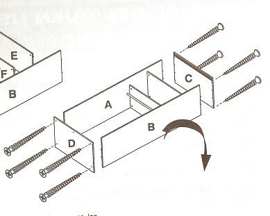 Diseñar mueble y dps sacar info de cada parte para realizar