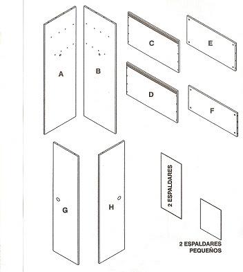 Muebles domoticos manual de usuario muebles rta for Partes de un mueble de cocina