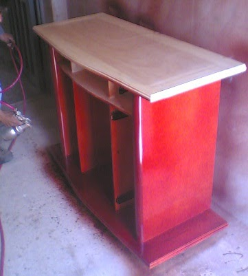 Muebles domoticos que es la pintura tipos componentes y - Pintura para maderas ...