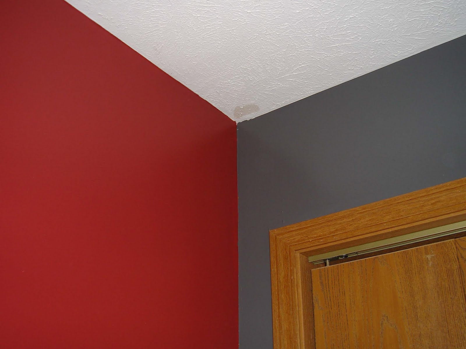 Better together bedroom makeover - Painting bedroom walls different colors ...
