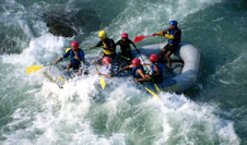 Rafting in nepal