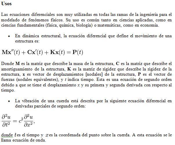 4 tipos de ecuaciones: