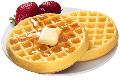 Slice of Earthly Delight: Waffles