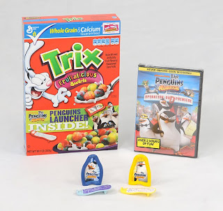 Penguins of Madagascar DVD and General Mills Giveaway