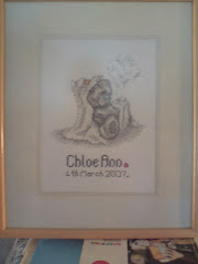 Chloe's Birth Sampler