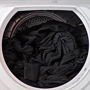 Blick in den Wäschetrockner