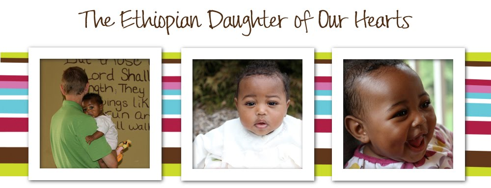 The Ethiopian Daughter of our hearts