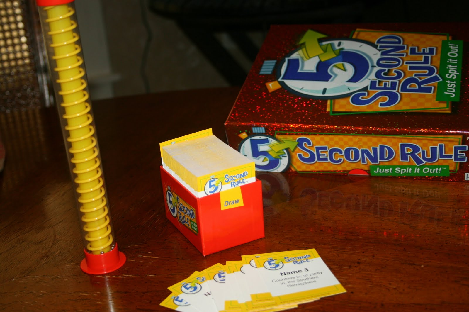 5 Second Rule - Just Spit it Out!