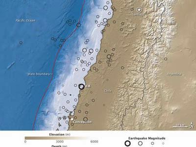 Gempa Chile