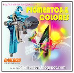 DEVILBISS. Pigmentos y colores.
