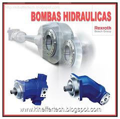 Bombas Hidráulicas de alta presión.