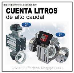 Controladores de flujo de alto caudal.