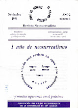 Última edición de <i>La Revista Neosurrealista</i>, Año 2, No. 4, Noviembre 1996