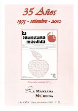 <i>La Manzana Mordida</i> N 76: Edicin de Aniversario.