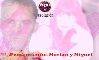 Pensamientos Marian y Miguel