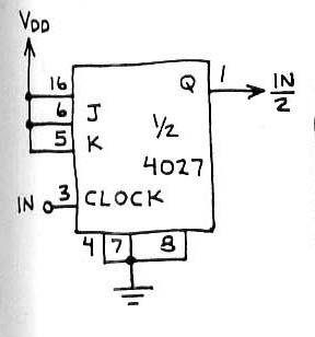 circuit 4027 divide by 2 counter electronic design schematic circuit rh electronicsdesign deni blogspot com 4-Bit Counter Counter Divide by 3