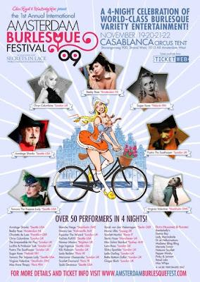 1st Annual International Amsterdam Burlesque Festival