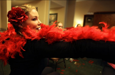 Burlesque Lessons for Army Wives