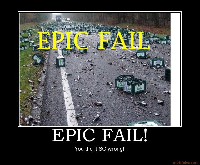 fail funnies. Epic Fail - funnies!