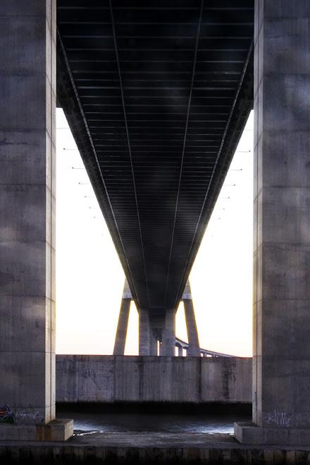 Estas são as minhas pernas, aqui me sustenho - Ponte Vasco da Gama