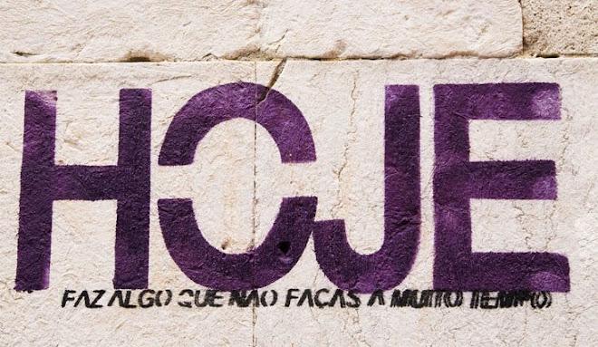 De que estás à espera? - Graffiti, Lisboa