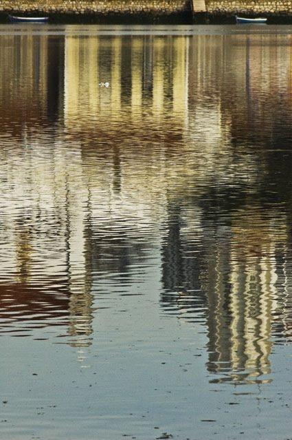 Reflexos ou outros sentidos de ver - Baía do Seixal