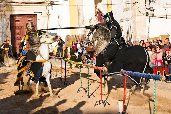 O Cavaleiro Negro ganha novamente! - Feira Medieval de Avis 2010