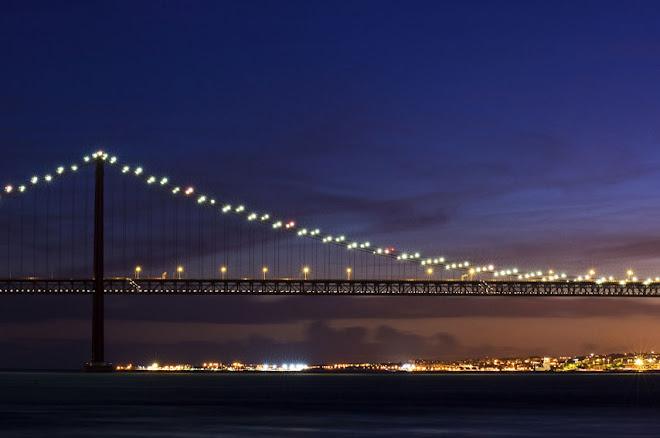 Luzes do lado de lá - Ponte 25 de Abril