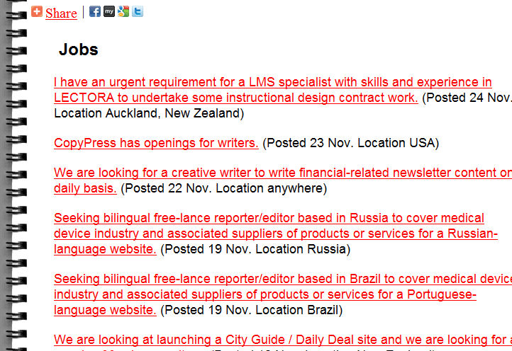How to quickly weed through freelance writing job ads for Jobs als freelancer