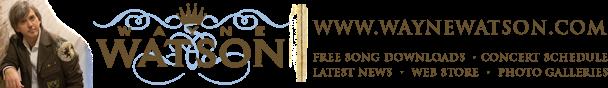 Wayne Watson's blog