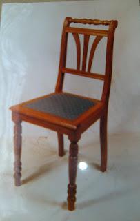 Mesas y sillas de estilo fabricaci n artesanal silla for Mesas estilo colonial