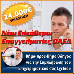 Πρόγραμμα ΟΑΕΔ Νέων Ελεύθερων Επαγγελματιών (ΝΕΕ)