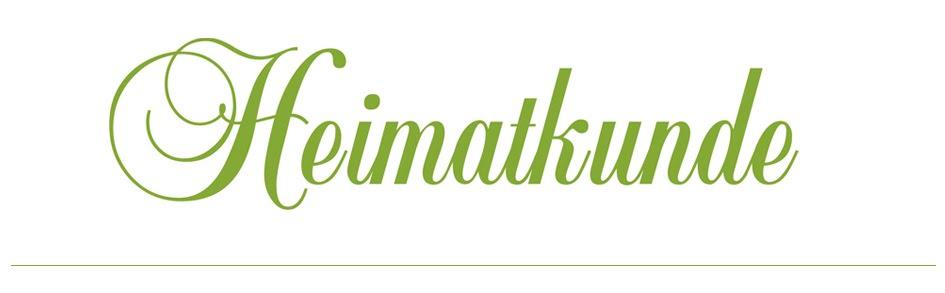 Heimatkunde