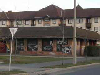 Budapest, Gloriett, blog, lakótelep, Match, áruház, street art, graffiti, falfirka, áruház, bolt, XVIII. kerület, Pestszentlőrinc