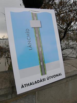 blog, Budapest, gyalogos, kerékpáros, közlekedés, Lánchíd, Széchenyi híd