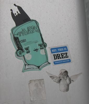 Budapest, sticker, omlásveszély, ANED, street-art, public art, ragacs, matrica, Magyarország, blog, Hungary, Ungarn, ANED, stickers, belváros