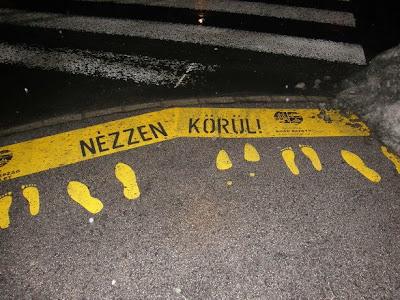 Budapest, street art, public art, XV. kerület, GRSP Magyarország Egyesület, reklám, GRSP