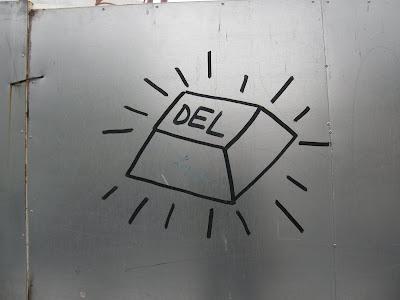 Delete, Budapest,  blog, XIII. kerület, street-art, public art, falfirka