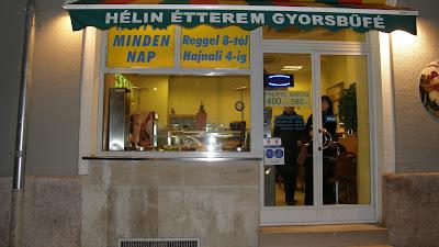 Hélin, étterem, gyorsbüfé, Gyros, döner kebab, Budapest,  Margit körút, Margit-híd, budai hídfő, Hungary,  junk food